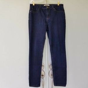 D. Jeans 12 Dark Wash High Rise Jeans Embellished